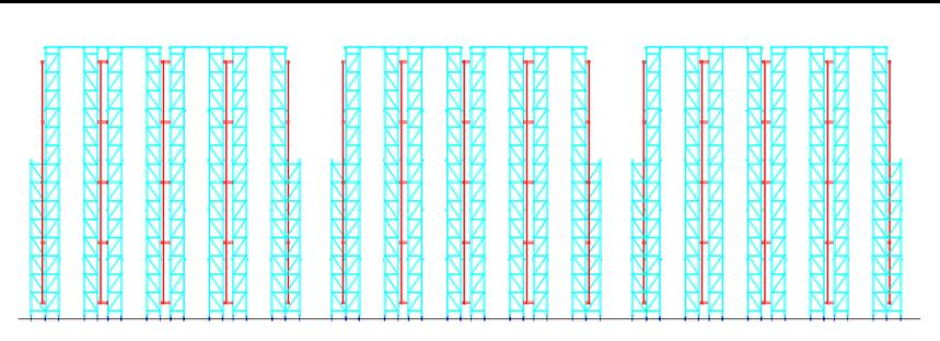 自动化立体库垂直图